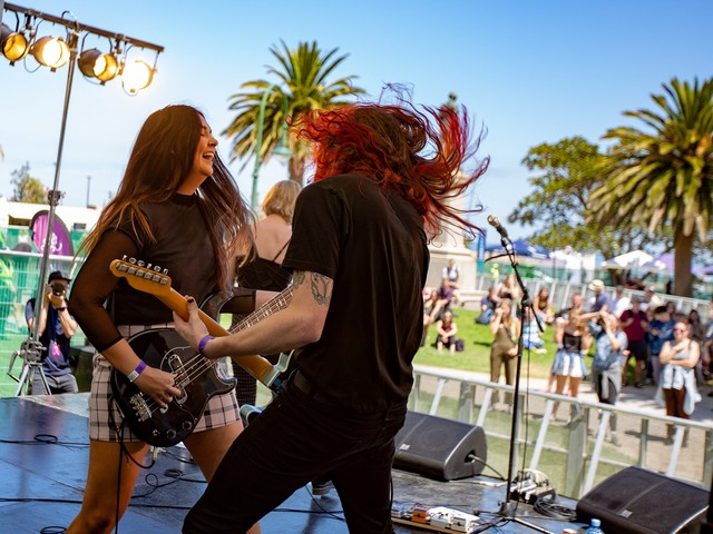 Vote for your favourite New Music Stage act from St Kilda Festival