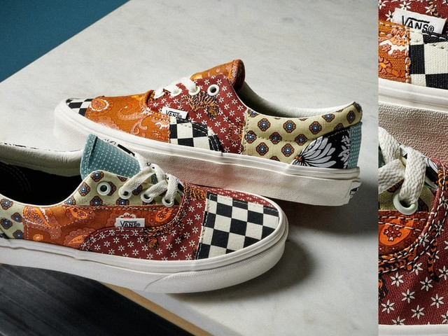 Vans Just Dropped a Patchwork Sneaker That Looks Like It Was DIY'd Just For Us