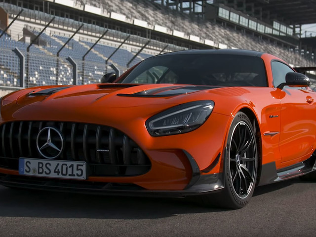 2021 Mercedes-AMG GT Black Series Is Really Rewarding On The Track