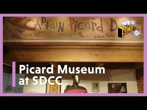 Comic-Con's Jean-Luc Museum Teases The New Frontier Of Star Trek: Picard