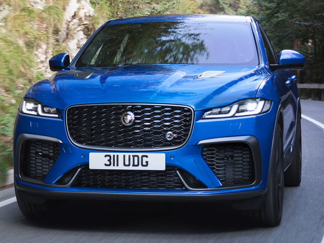 2021 Jaguar F-Pace SVR Is Faster And More Luxurious