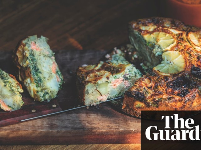 Healthy fish and chip pie recipe