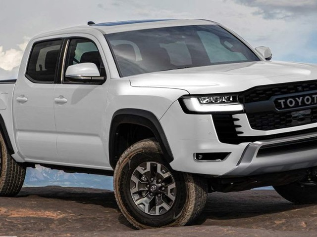 Will the 2023 Toyota HiLux be a tray-backed LC300? HiLux, Tacoma, Fortuner and Prado to share LandCruiser-derived platform - but what about its twin-turbo diesel V6? Reports