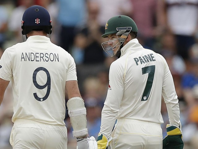 'Keep it respectable': Anderson fires back at Paine's 'dangerous' Ashes taunt