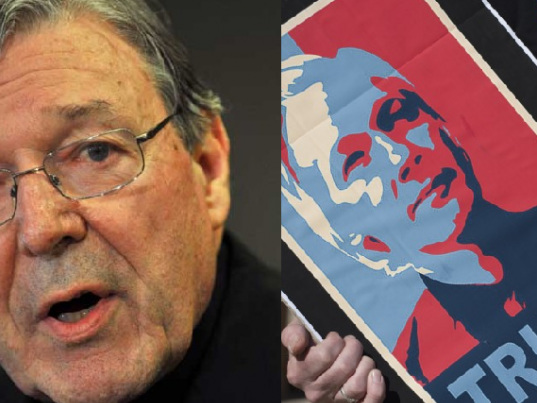 George Pell gets a visit from a PM while Assange fights alone