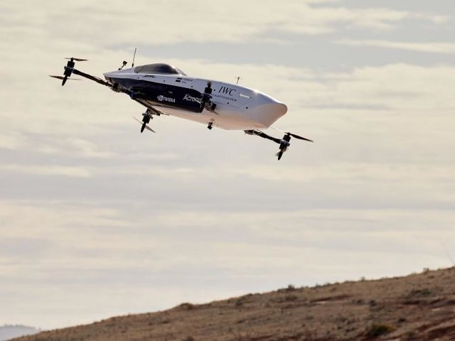 Telstra Purple takes off with Alauda for 'flying car'