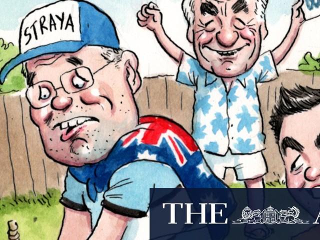 Cricket Australia's proud dad diversity moment