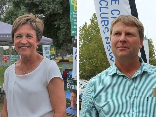 Polling closes for the 2019 NSW election in the seat of Murray
