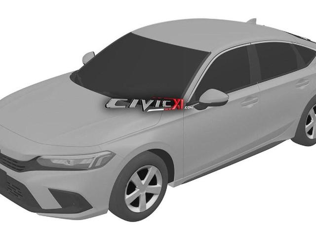 2022 Honda Civic patent photos leaked as Mazda 3, Toyota Corolla, Hyundai i30 and Kia Cerato rival scores classy new clothes