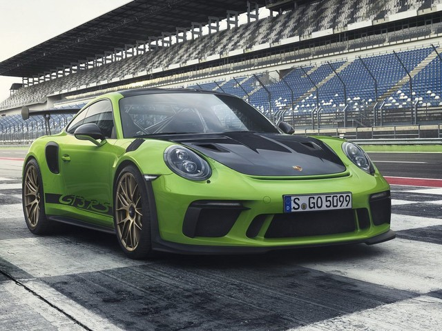 2018 Porsche 911 GT3 RS Has Reportedly Lapped The Nurburgring In Under 7 Minutes