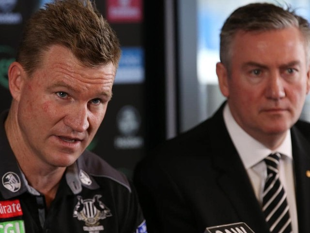 Eddie McGuire insists 'no rush' on Nathan Buckley's contract entering final year