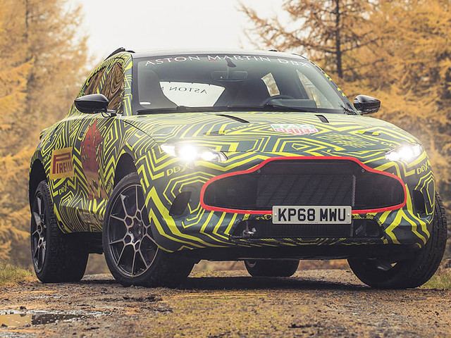 Aston Martin DBX SUV breaks cover in camo