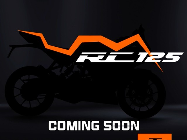 KTM RC 125 Officially Teased, Launch Later This Month