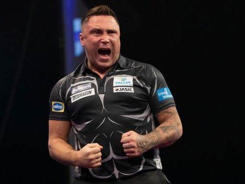 Grand Slam of Darts: Gerwyn Price beats Gary Anderson to reach semi-final