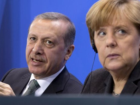 Merkel lets Turkey press case against German comic who mocked president Erdogan