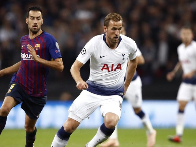 Champions League live blog: Barcelona v Spurs