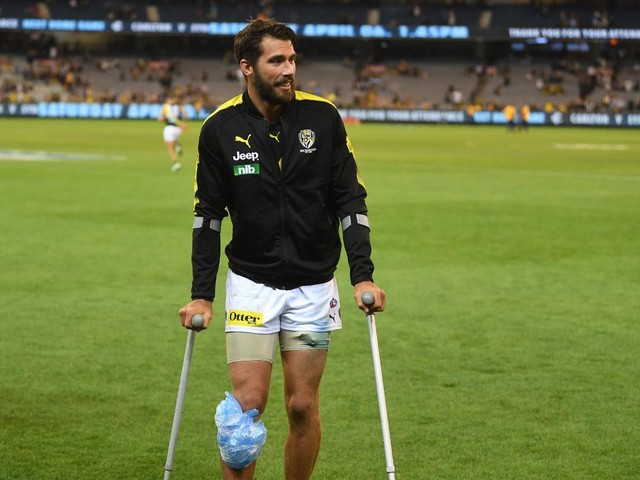 Surgery setback: Rance goes under the knife on troublesome right knee