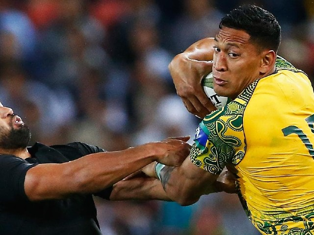 Race against time: How All Blacks view Wallabies without Folau