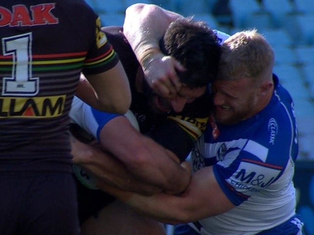 Luke Thompson faces nervous wait after alleged eye gouge on James Tamou