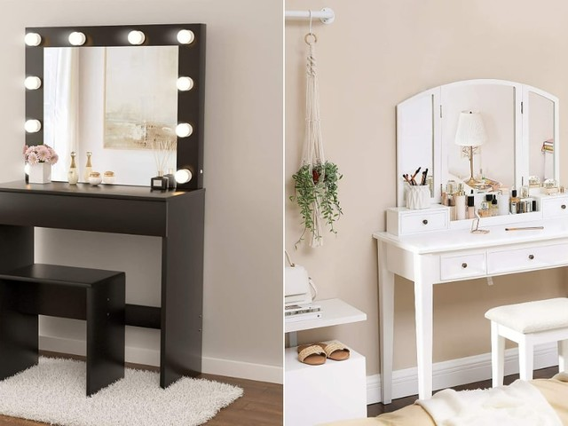 8 Stunning Vanities We Found Hiding on Amazon - For Less Than $200