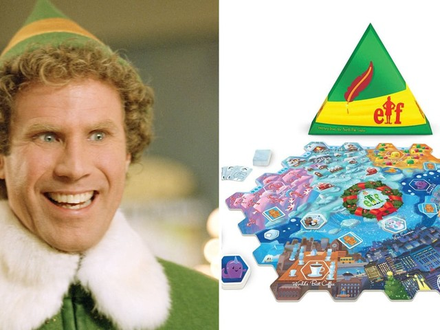 You Sit on a Throne of Lies If You're Not Psyched About This Buddy the Elf Board Game
