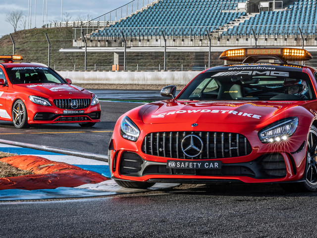 Mercedes-AMG GT R, C63 S Safety And Medical Cars Get New Attire For 2021 F1 Season
