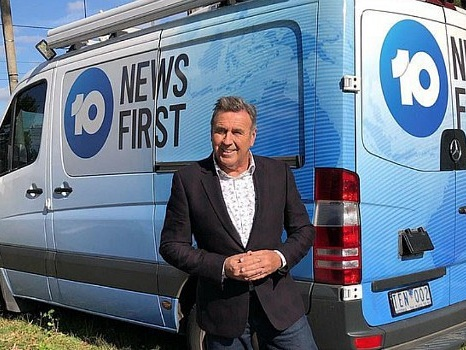 Mike Larkan returns to 10 News First