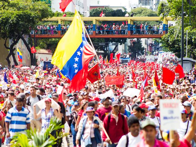 Venezuela: Regime change is 'made in the USA'