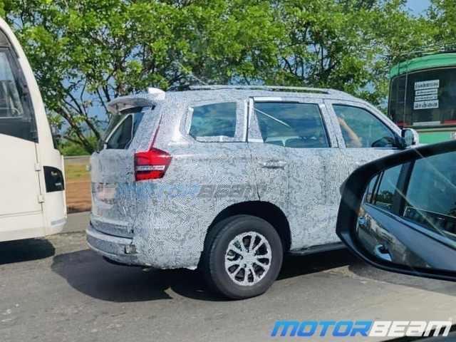 New Gen Mahindra Scorpio Spied – Look At Those Tail Lights
