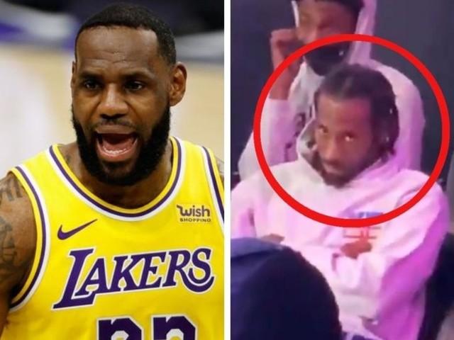 LeBron James reacts to viral miserable Kawhi Leonard video
