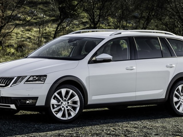 New Scout Model Takes Skoda Octavia Upgrades Off The Beaten Path