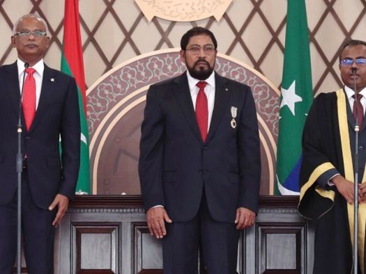 Maldives's new President sworn in but facing difficult road ahead