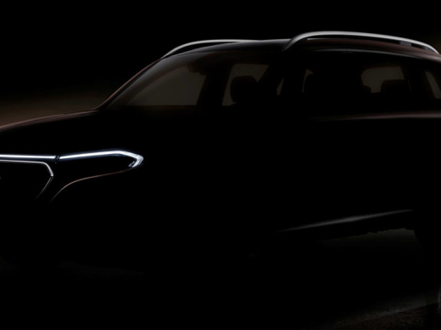 New Mercedes-Benz EQB Compact Electric SUV Teased Ahead Of Auto Shanghai Debut On April 18