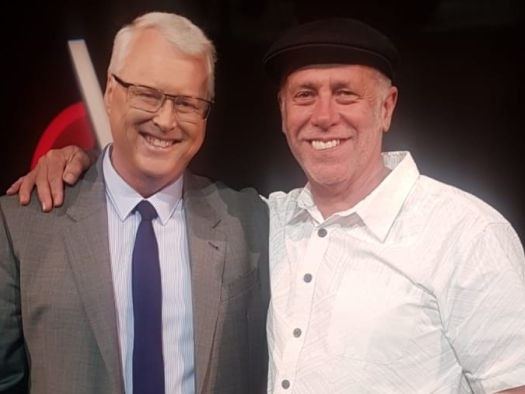 Q&A host Tony Jones and EP Peter McEvoy sign off after 12 years