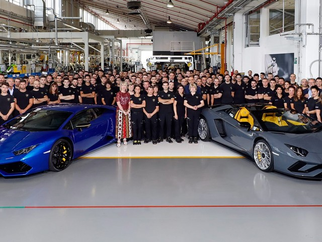 8,000 Aventadors And 11,000 Huracans Show Just How Fast Lamborghini Is Growing
