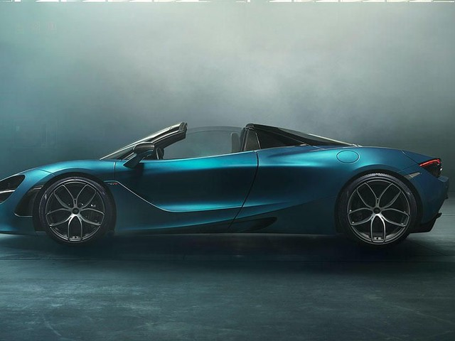 The McLaren 720S Spider can hit 202 miles per hour with the roof down - Roadshow