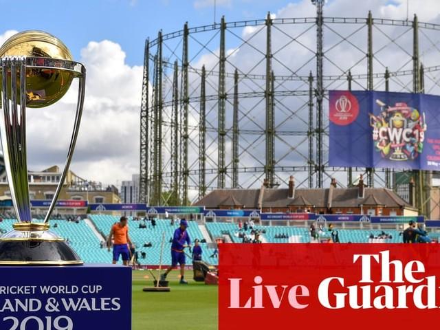 Sri Lanka v Australia: Cricket World Cup 2019 – live!