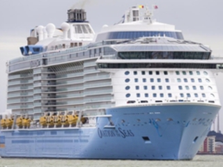 Huge cruise ship heading to Fremantle (The West Australian)