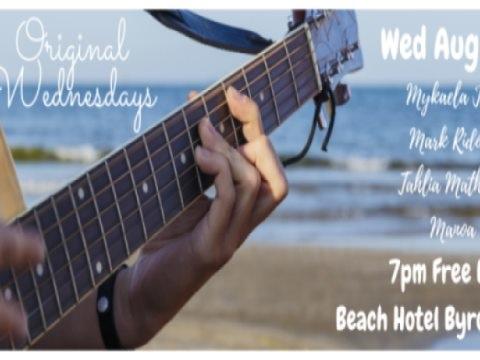 Original Wednesdays @ Beach Hotel Byron Bay