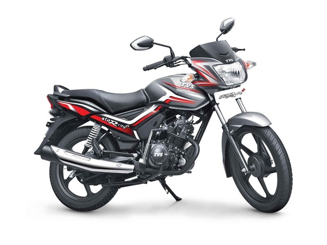 2018 TVS Star City+ Launched, Priced At Rs. 52,907/-