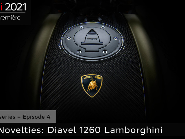 Get Ready For The Ducati Diavel 1260 Lamborghini Special This Wednesday, Nov 25