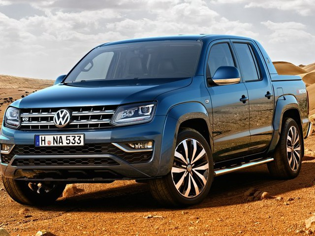 2017 Volkswagen Amarok gets V6 diesel power
