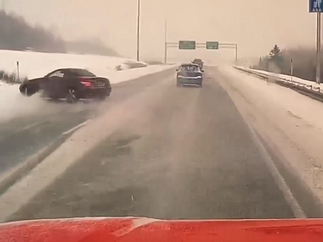 Say It Ain't Snow: Impatient Mercedes Owner Loses It While Attempting To Pass