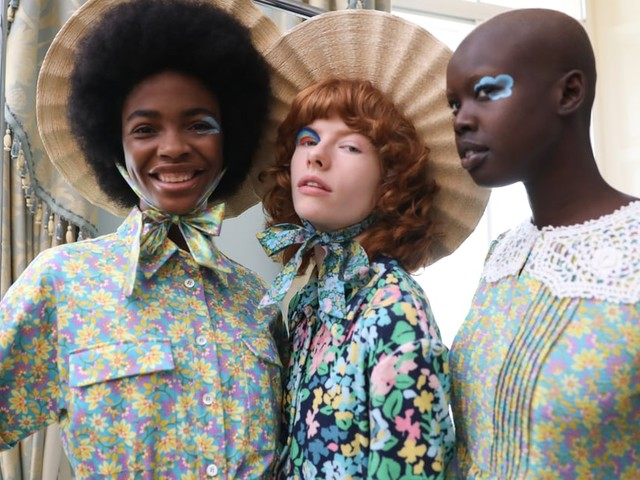 London Fashion Week Spring 2022: The Best Hair and Makeup Moments From the Runways
