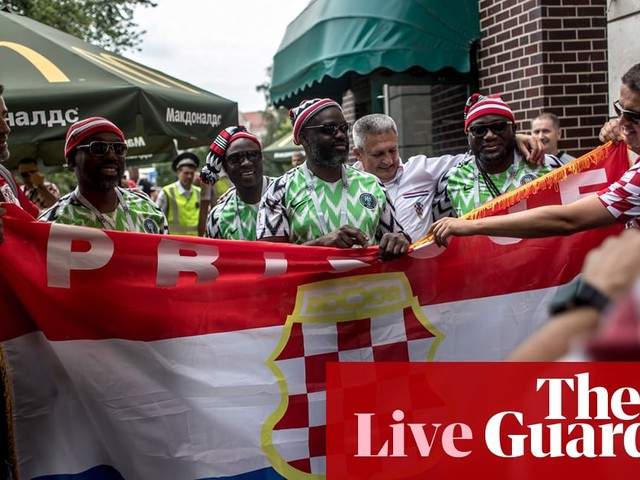 Croatia v Nigeria: World Cup 2018 – live!