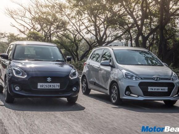 Maruti Swift vs Hyundai Grand i10 – Video