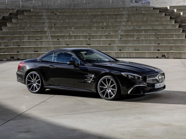 The Mercedes-Benz SL Grand Edition wants to put the SL back on top - Roadshow