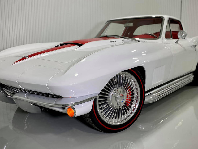 Breathtaking C2 Corvette Stingray Restomod Looks Like It Has Time-Traveled From 1967
