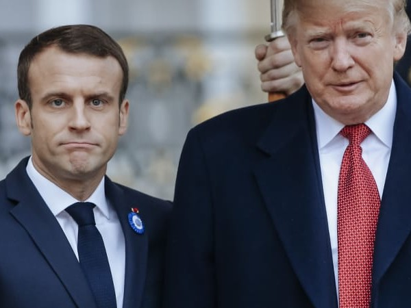 As relationship sours, Macron rebukes Trump, says France is not vassal of US