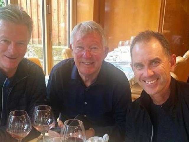 How lunch with Sir Alex Ferguson gave Justin Langer a vital Ashes lesson